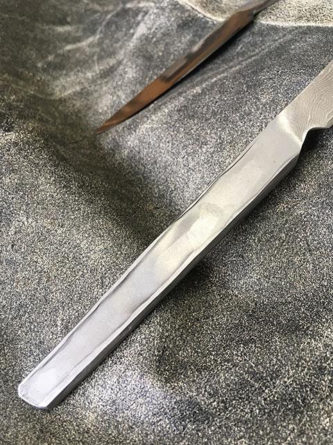 ステーキナイフの持ち手部分